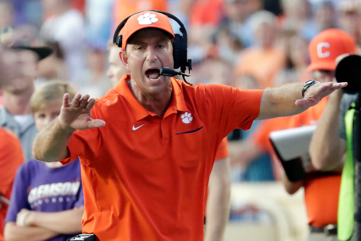 Dabo Swinney blasts Florida State for COVID-19 postponement: 'Just an excuse' 1
