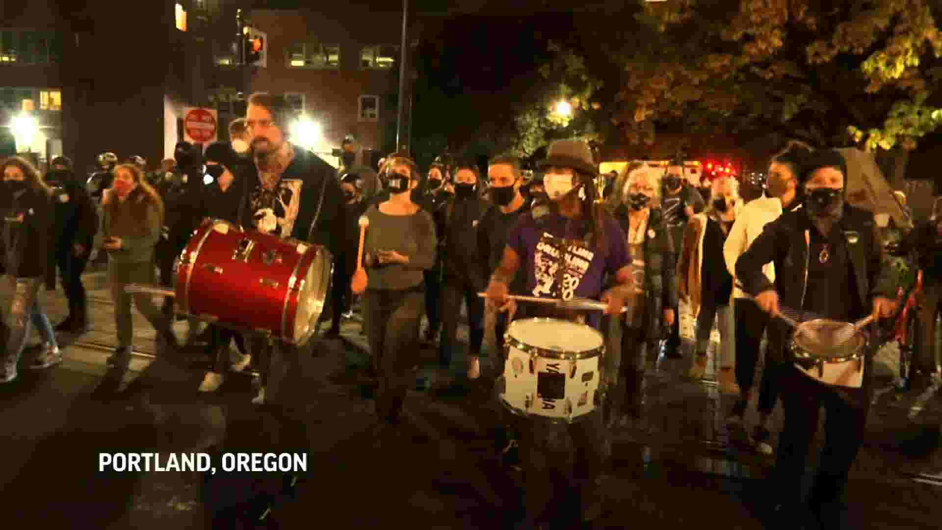 Election results bring out protests across U.S. 1