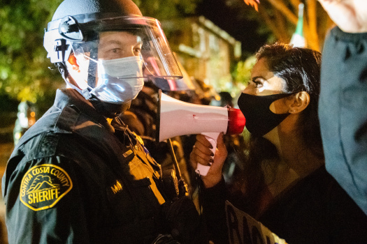East Bay protesters focus on suburbs to bring about change 1