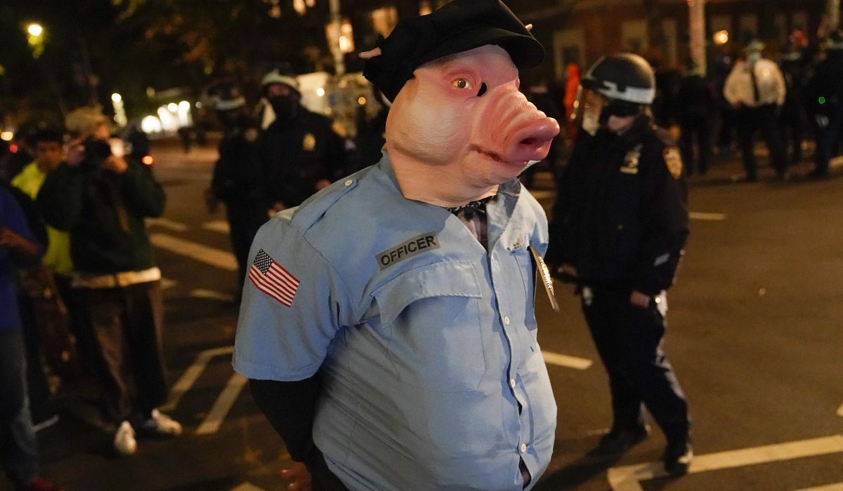 Police: At least 20 arrests at post-election protest in NYC 1