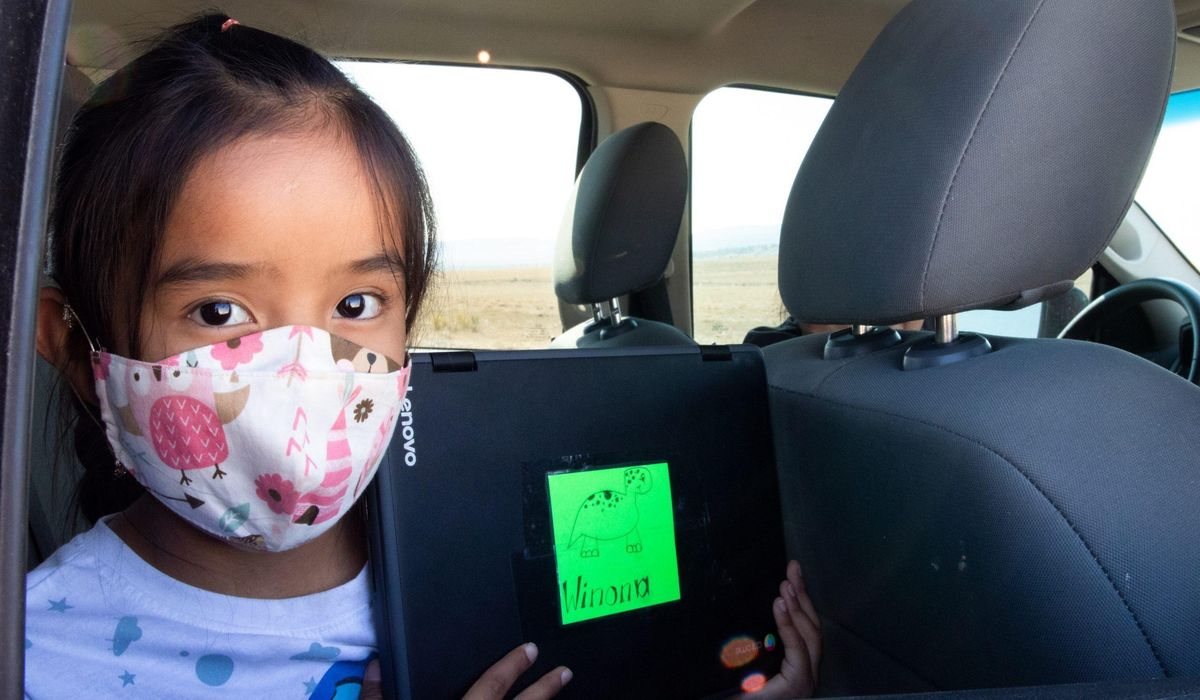 Navajo school, students fight to overcome amid COVID-19 1