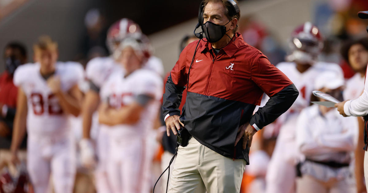 Nick Saban tests positive for COVID-19 again 1