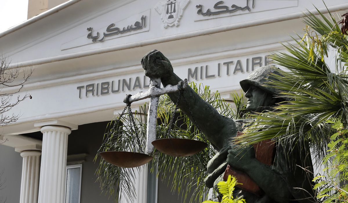 In Lebanon, army courts target anti-government protesters 1