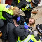 155 arrested in London amid anti-lockdown protests 6
