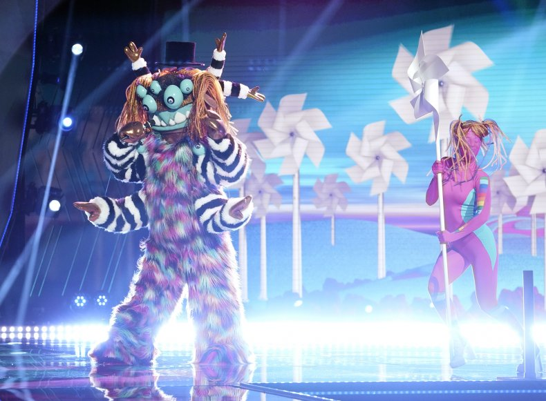 'The Masked Singer' Eliminations: This Was the Celeb Hiding Behind Squiggly Monster Costume 1