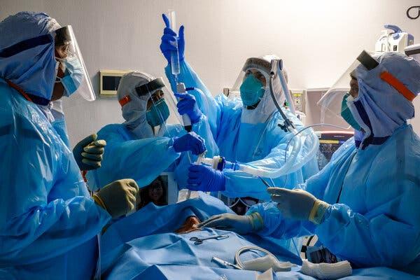 Coronavirus Hospitalizations, Iran, Black Friday: Your Friday Evening Briefing 1