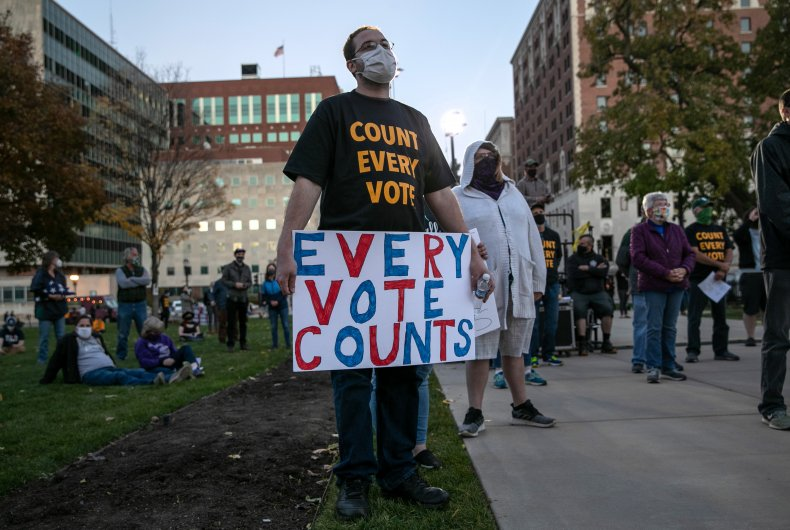 Detroit Chaplain Says Black Vote Will Not Be Deterred by 'Stop the Count' Protest: 'We've Gone From Picking Cotton to Picking Presidents' 1