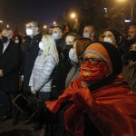 North Macedonia opposition stages anti-government protest 7