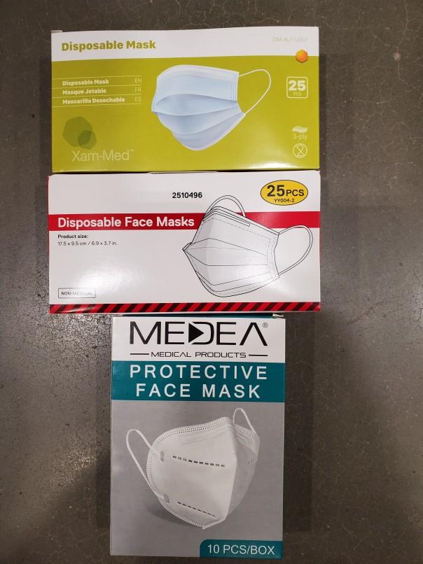 COVID masks 'made in China' -- oh, the irony 1