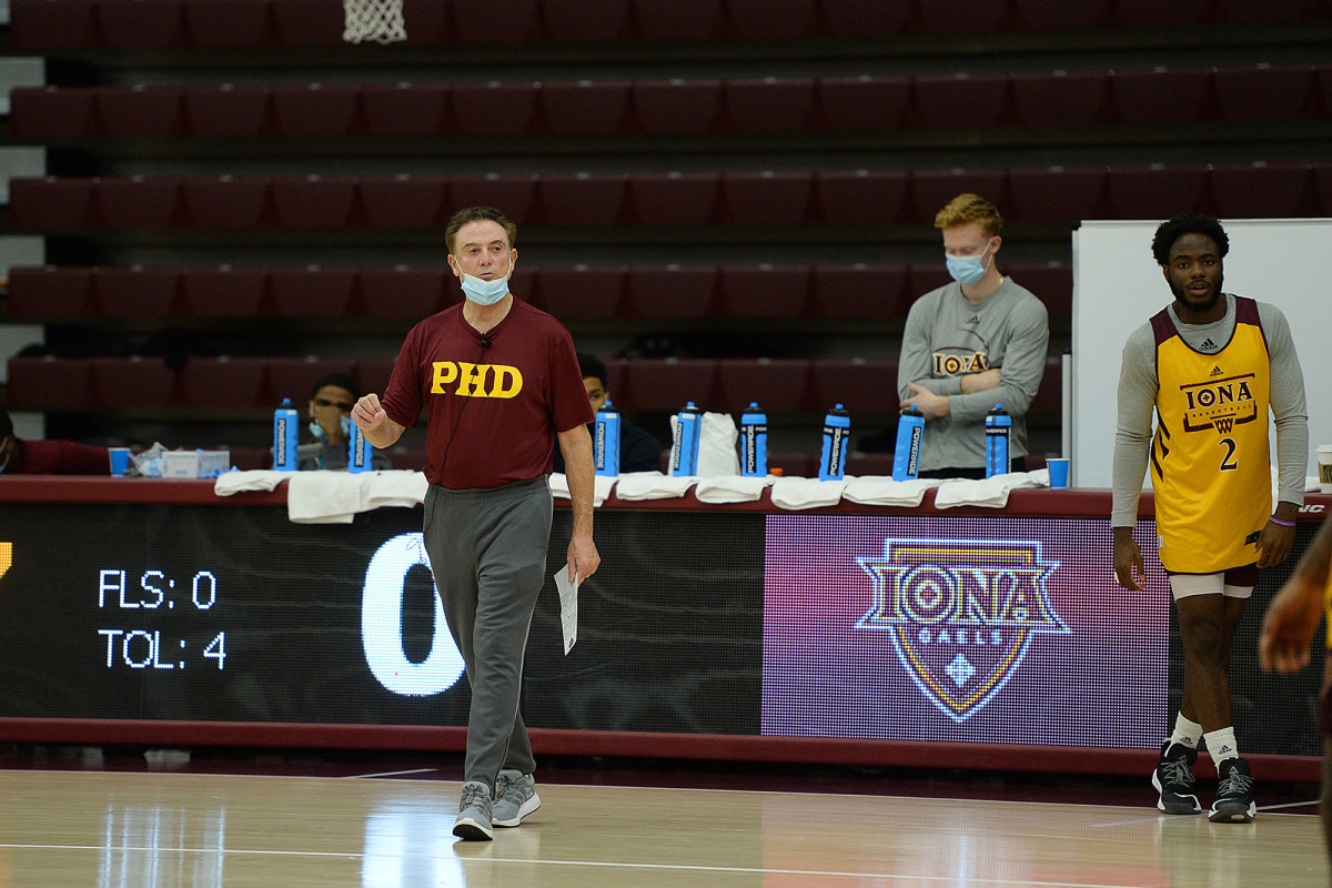 Iona basketball on 14-day pause after positive COVID-19 test 1