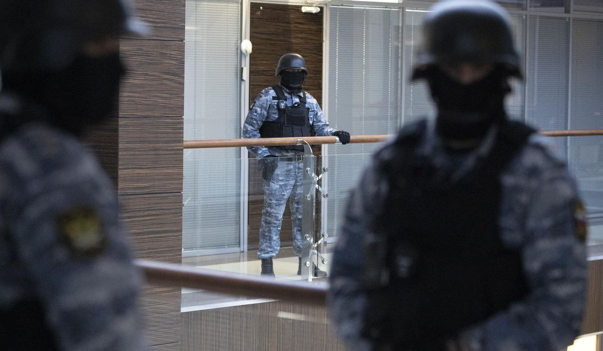 Moscow office of Navalny's organization searched during raid 1