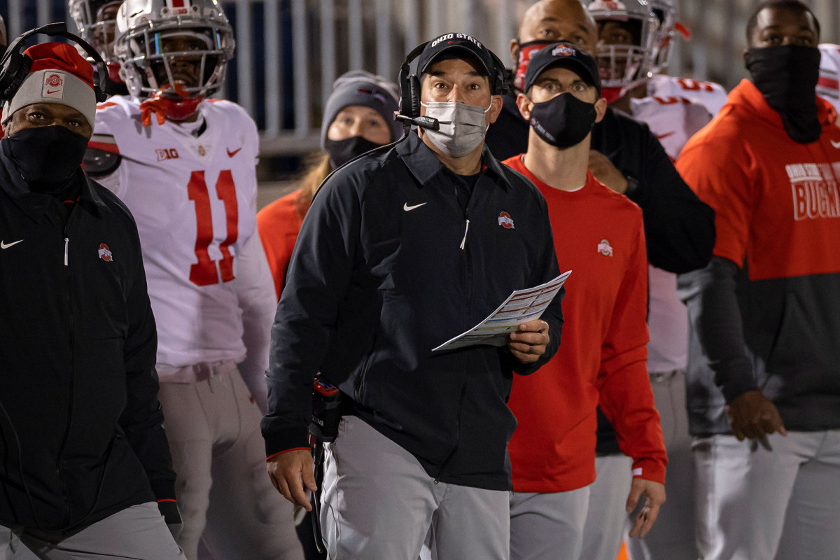 Ohio State's Ryan Day the latest NCAA coach to test positive for COVID-19 1