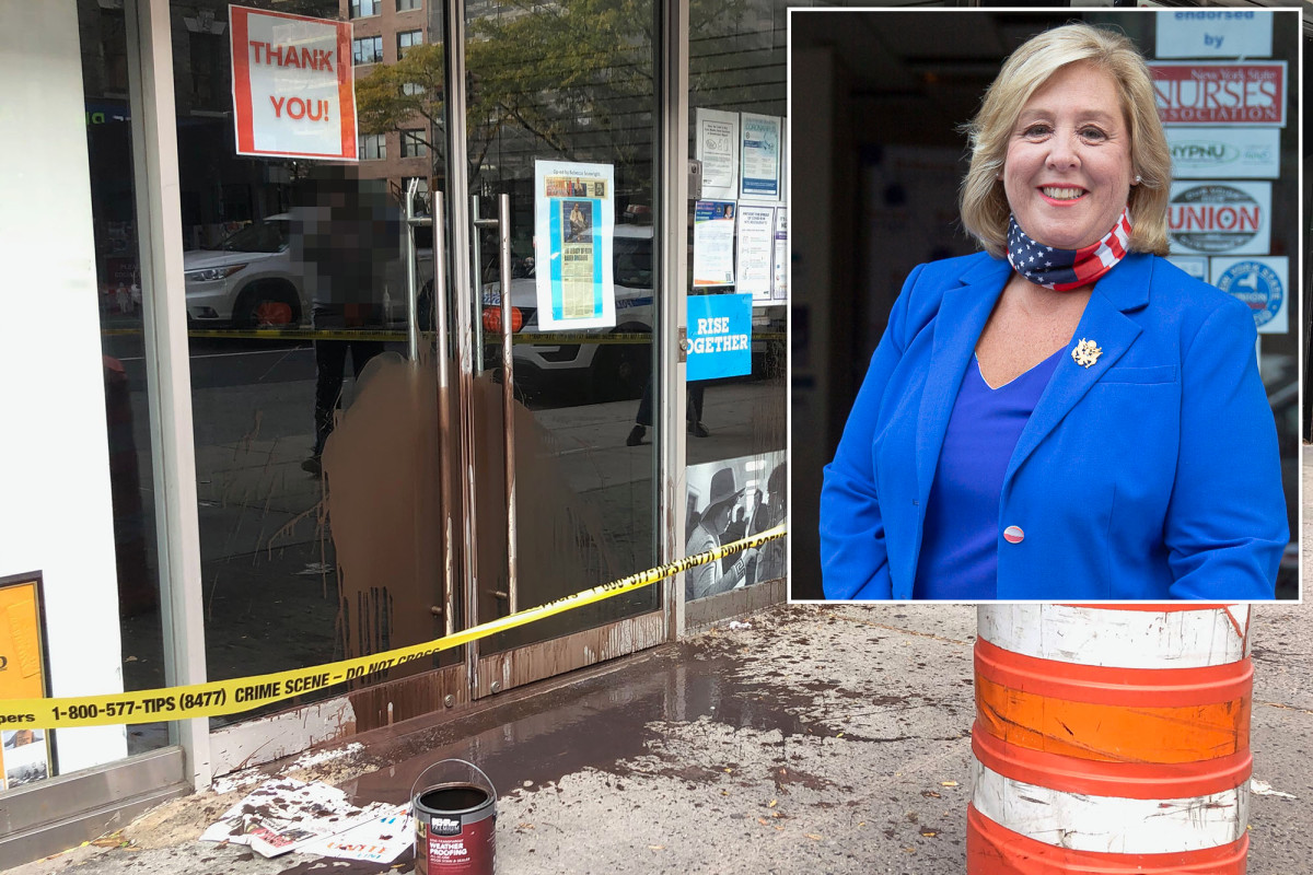 Cops probe vandalism of NY Assembylwoman Rebecca Seawright's office 1