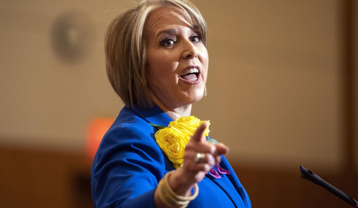 New Mexico governor reshuffles office as she advises Biden 1