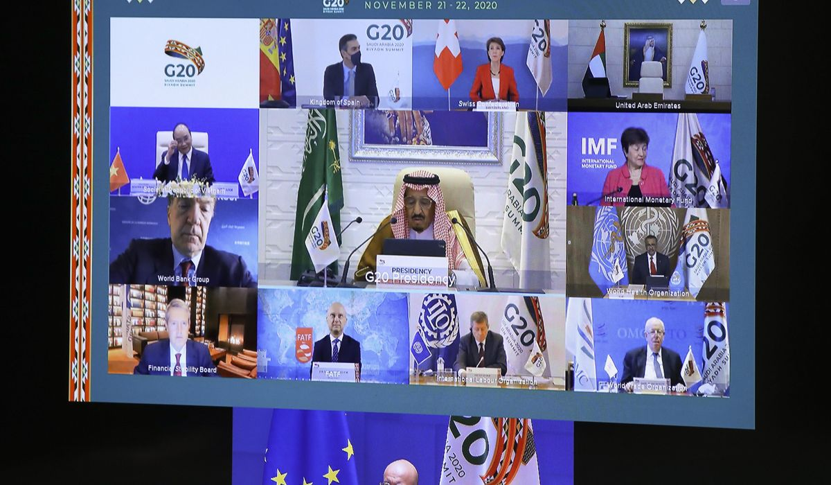 G-20 summit ends with support for COVID-19 vaccines for all 1