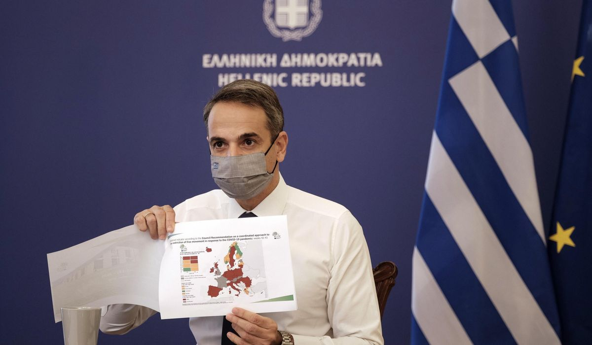 Greece imposes lockdown to avoid worst at hospitals 1