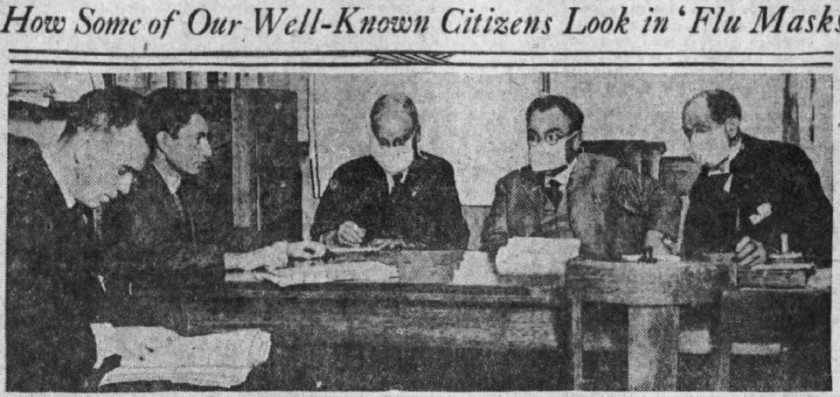 Column: During the 1918 flu pandemic, L.A. didn't make masks mandatory. It was a poor choice 1