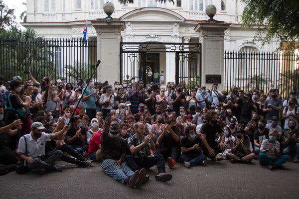 'On Social Media, There Are Thousands': In Cuba, Internet Fuels Rare Protests 1