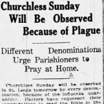 For churchgoers during the Covid-19 pandemic, a deadly lesson from the 1918 flu 5