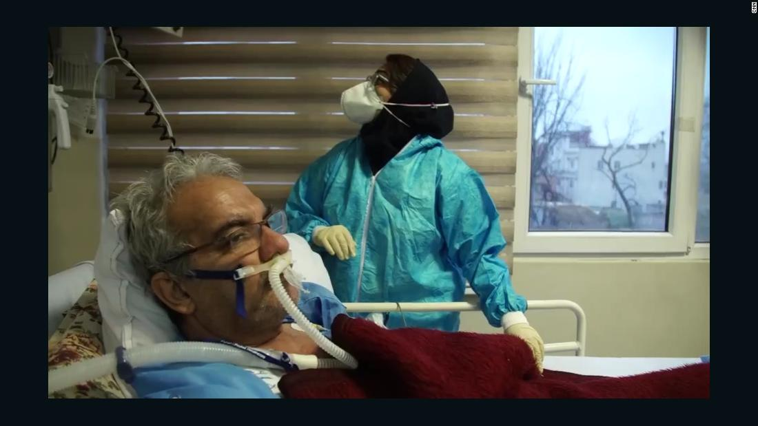 Inside a Tehran hospital facing Iran's biggest Covid-19 surge 1