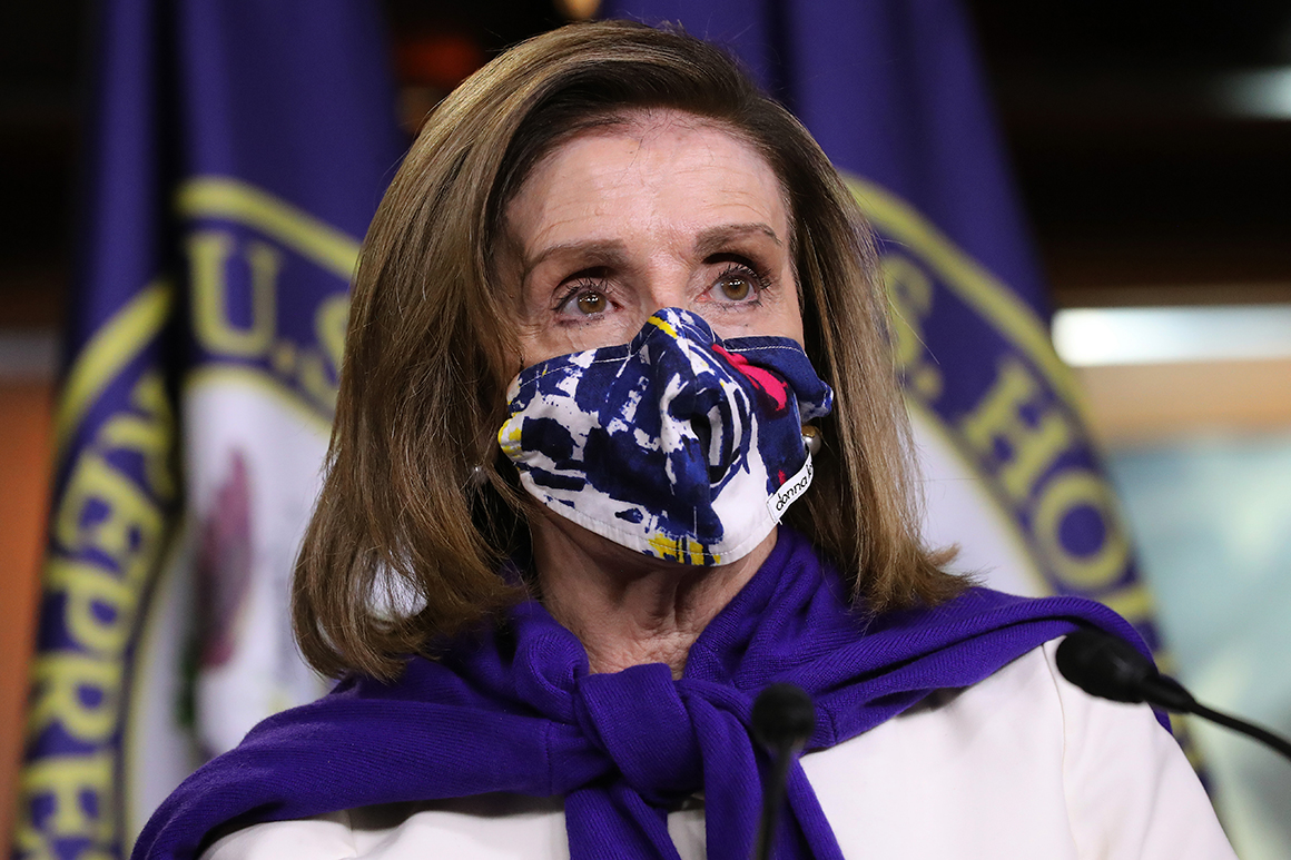 Pelosi looks to lock down speaker's vote in shadow of coronavirus 1