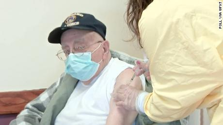 Veterans home where at least 76 died of Covid-19 administers its first vaccines 1