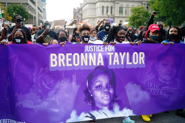 At Least One More Louisville Officer Tied to Breonna Taylor Raid Will Be Fired 1