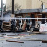 Portland protesters fighting gentrification barricade streets, set booby traps for police 3