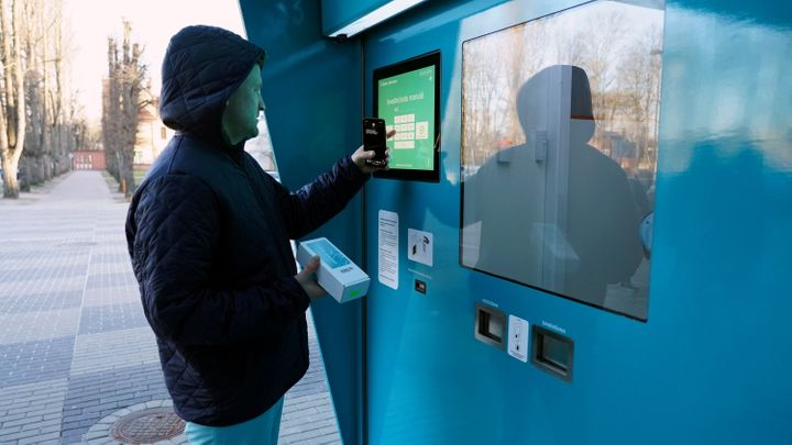 Latvia To Roll Out COVID-19 Tests Via Vending Machine 1