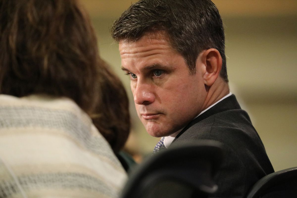 Rep. Adam Kinzinger has battled Trump and his fellow Republicans. In deep blue Illinois, could that be a strategy for higher office? 1