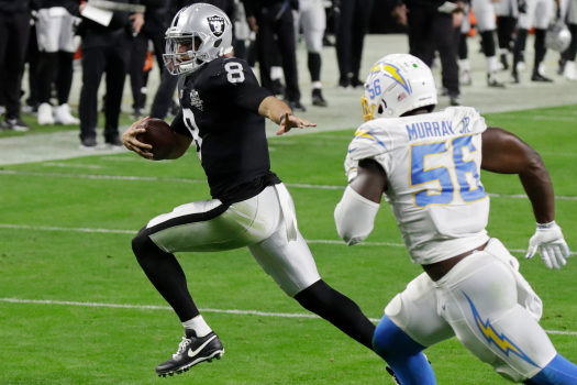 Raiders will start Derek Carr, Gruden won't say if there's a role for Marcus Mariota 1