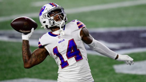 Allen, Diggs carry Bills to 38-9 Monday Night Football win over Patriots 1