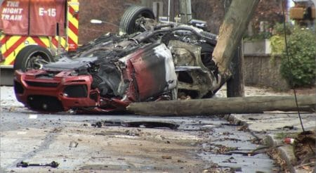 Two dead after stolen car flips and bursts into flames in Midtown; officer violated no-chase policy 1