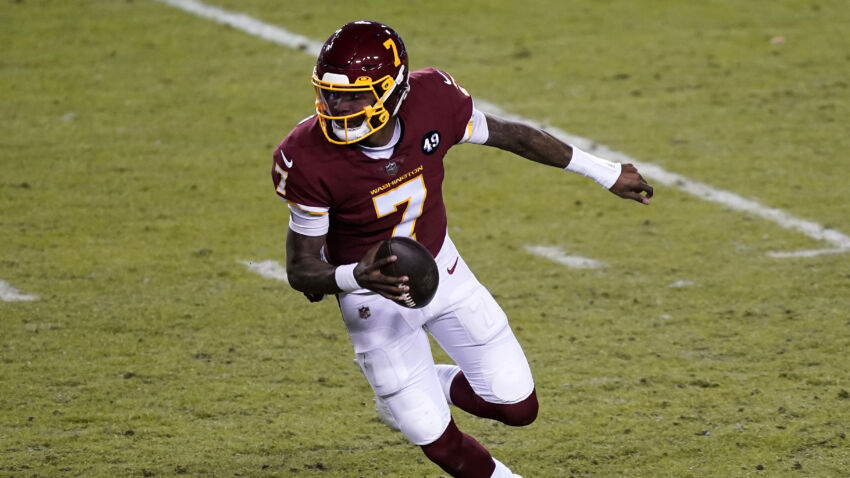Should the Patriots sign Dwayne Haskins? 1