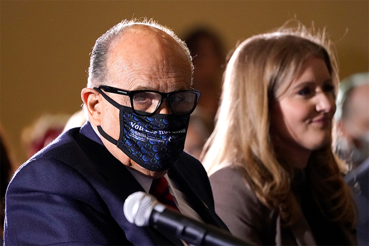 Rudy Giuliani leaves hospital after treatment for COVID-19 1