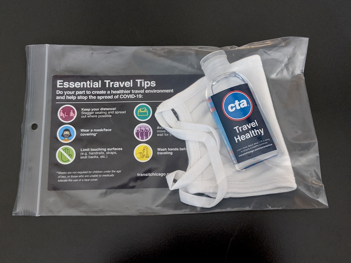 CTA buses to offer free disposable masks 1