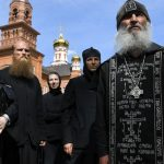 Coronavirus-denying Russian monk detained by police 8