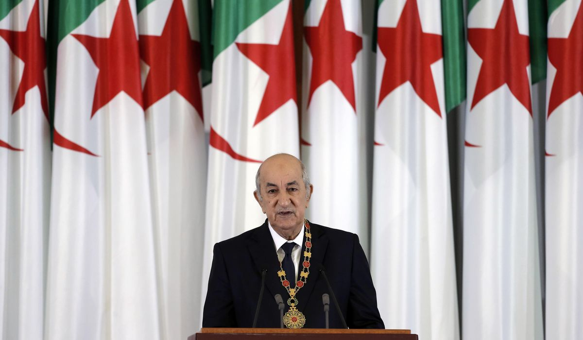 President returns to Algeria, reports recovery from COVID-19 1