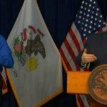 "Gov. Pritzker calls record Illinois COVID-19 deaths ""devastating"" 7"
