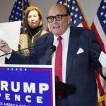 Rudy Giuliani tests positive coronavirus, Trump tweets 8