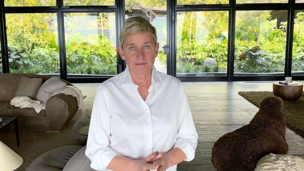 Ellen DeGeneres says she tested positive for COVID-19 1
