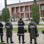 Morocco's police disperse protest against ties with Israel 6