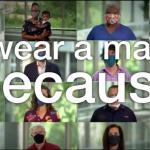 #IWearAMaskBecause urges Americans to remain vigilant 5