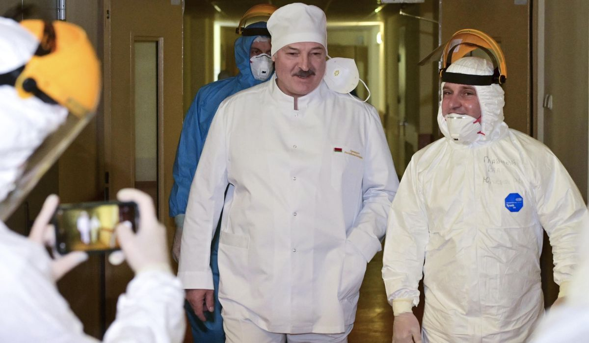 Belarus starts COVID-19 vaccinations with Russian shots 1