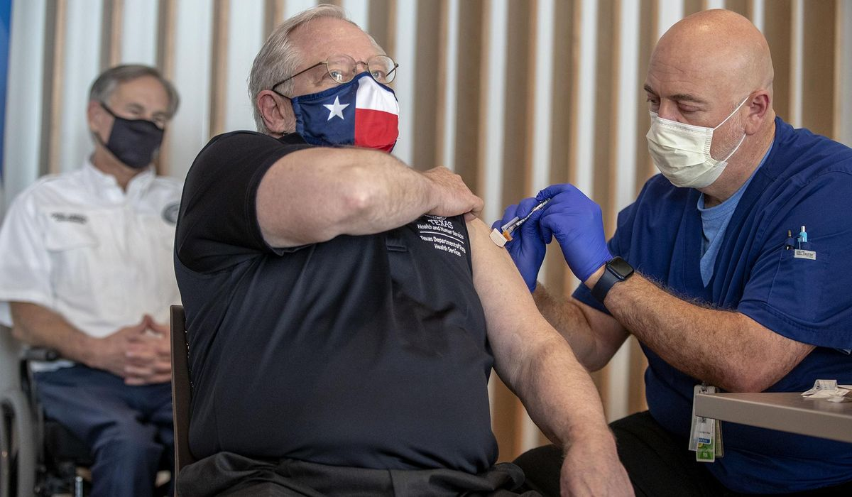 Texas hits new record high of COVID-19 hospitalizations 1