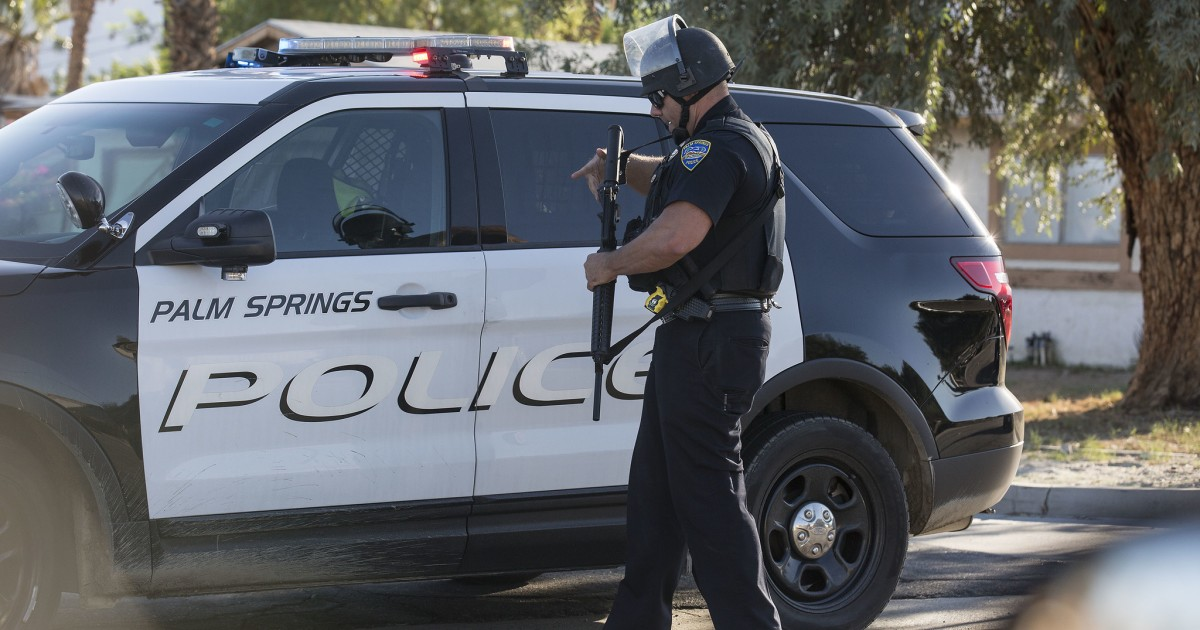 Palm Springs police exposed to coronavirus after man spits on them 1