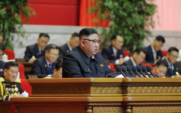 Kim Jong-un Opens Party Congress With Admission of Failures in North Korea 1
