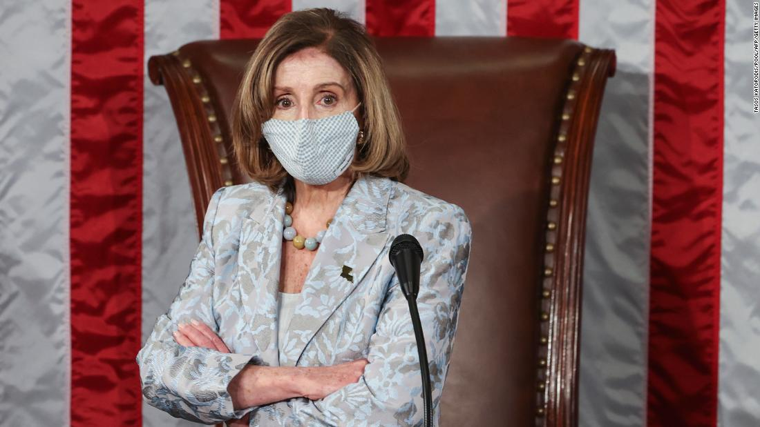 Pelosi tells 2 lawmakers to wear masks after tense exchange 1