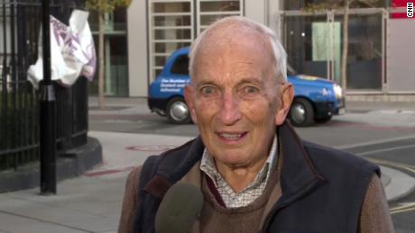 British man, 91, who told CNN there's 'no point dying now,' gets second dose of Covid-19 vaccine 1