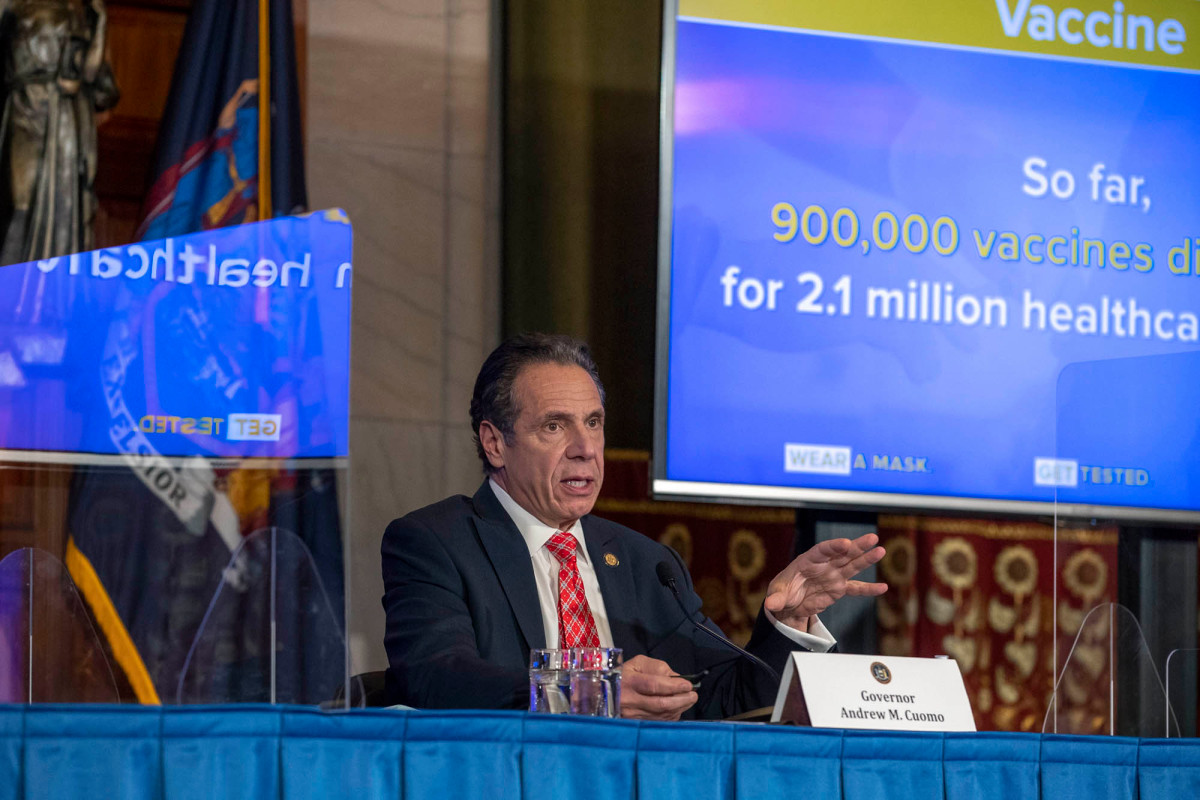 Why New York's COVID-19 vaccine rollout stalled and how to fix it 1